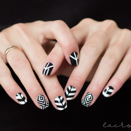 bornprettystore-bps-nailwraps-nailsticker-nagelsticker-23056-black-and-white-geometric-review-1