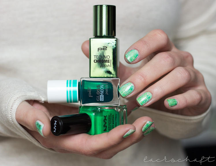 nailsreloaded-challenge-nailart-dry-brush-distressed-nails-essie-urban-jungle-p2-gloss-geos-neon-ferris-wheel-techno-chrome-enchanted-forest-nyx-hot-green-swatch-1