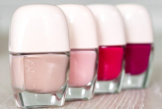 LOV-Cosmetics-Spring-Make-up-Collection-2017-Nagellack-Nailpolish-graceful-beige-amazing-rose-seductive-pink-forever-berry-swatch-review-1