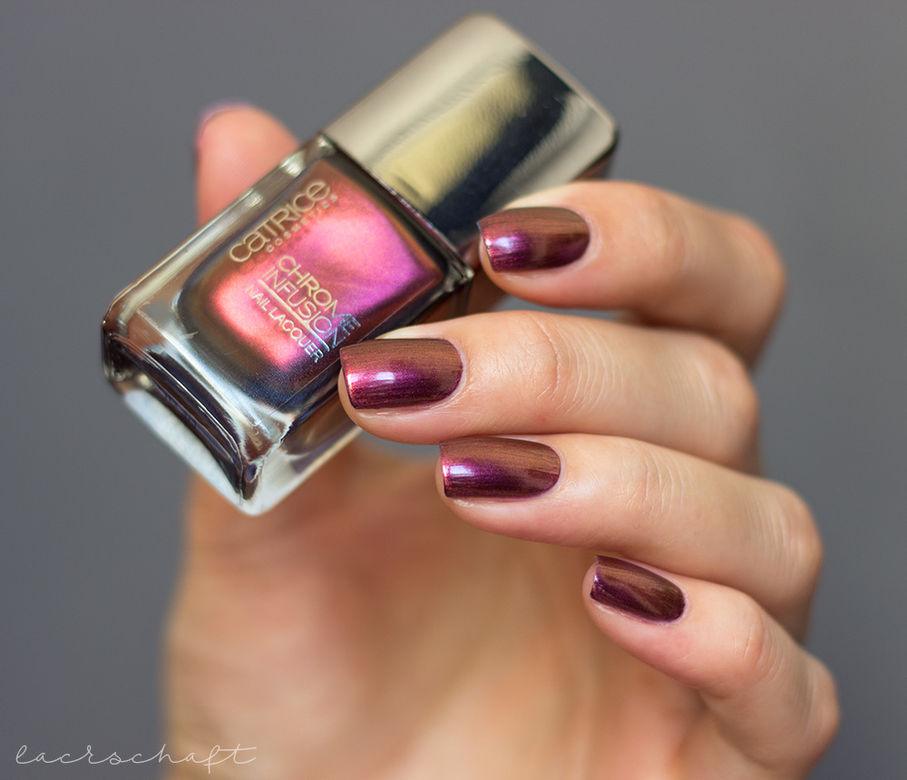 catrice-sortimentsumstellung-herbst-2017-chrome-infusion-nail-lacquer-nagellack-nail-polish-04-unexpected-Red-Duochrome-swatch-dupe-1