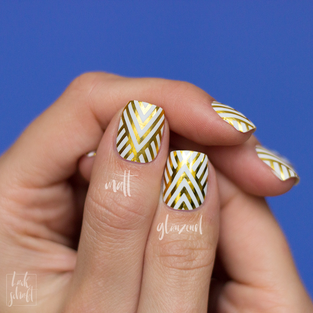 Stickergigant-Chevrongold-Lackschaft-Nagelsticker-Nagelfolien-Nailwraps-Chevron-7