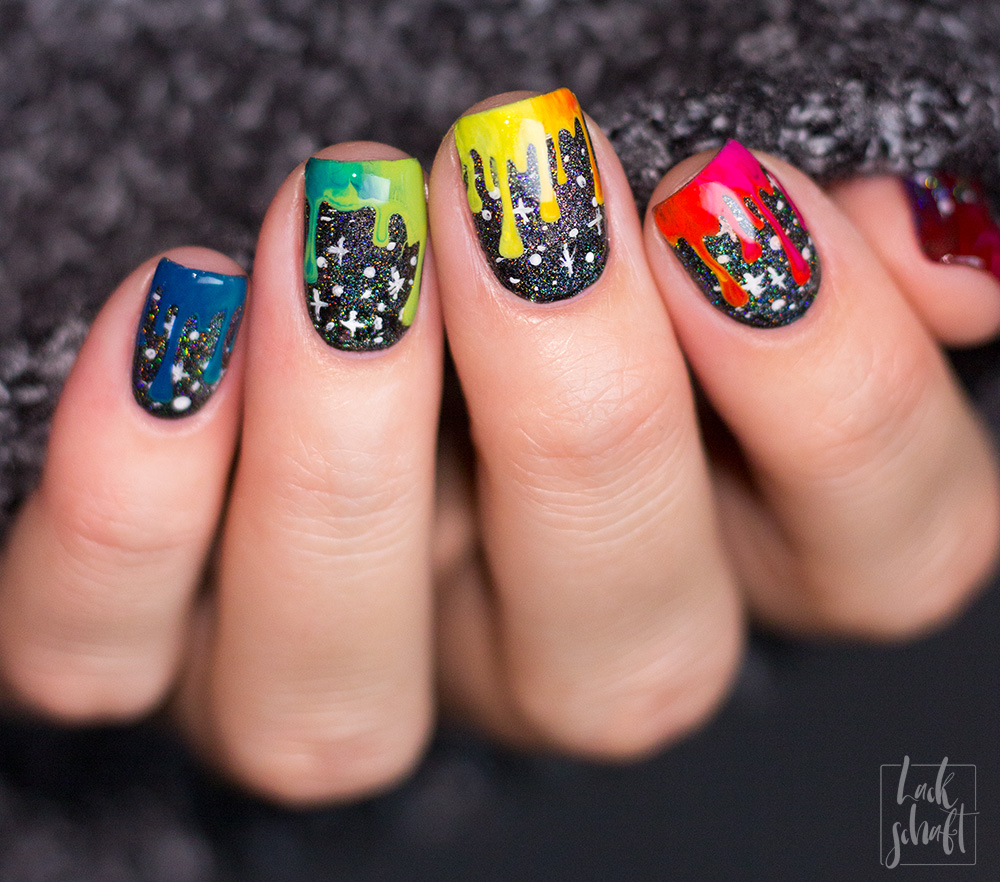 frischlackiert-challenge-Galaxy-Galaxie-Nails-rainbow-Gradient-Drip-Nailart-4