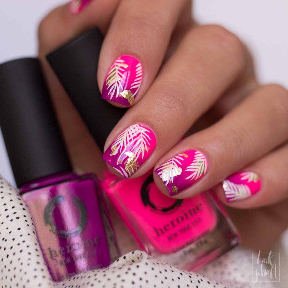 Frischlackiert-Challenge-Gradient-Nailart-Heroine-NYC-Moyou-Stamping-tropical-5