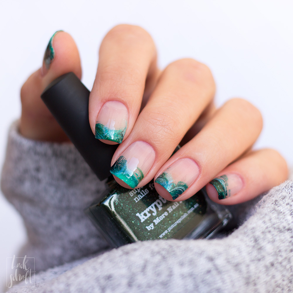 Picture-Polish-Sage-Enchanting-Kryptonite-Escapades-French-Nails-4