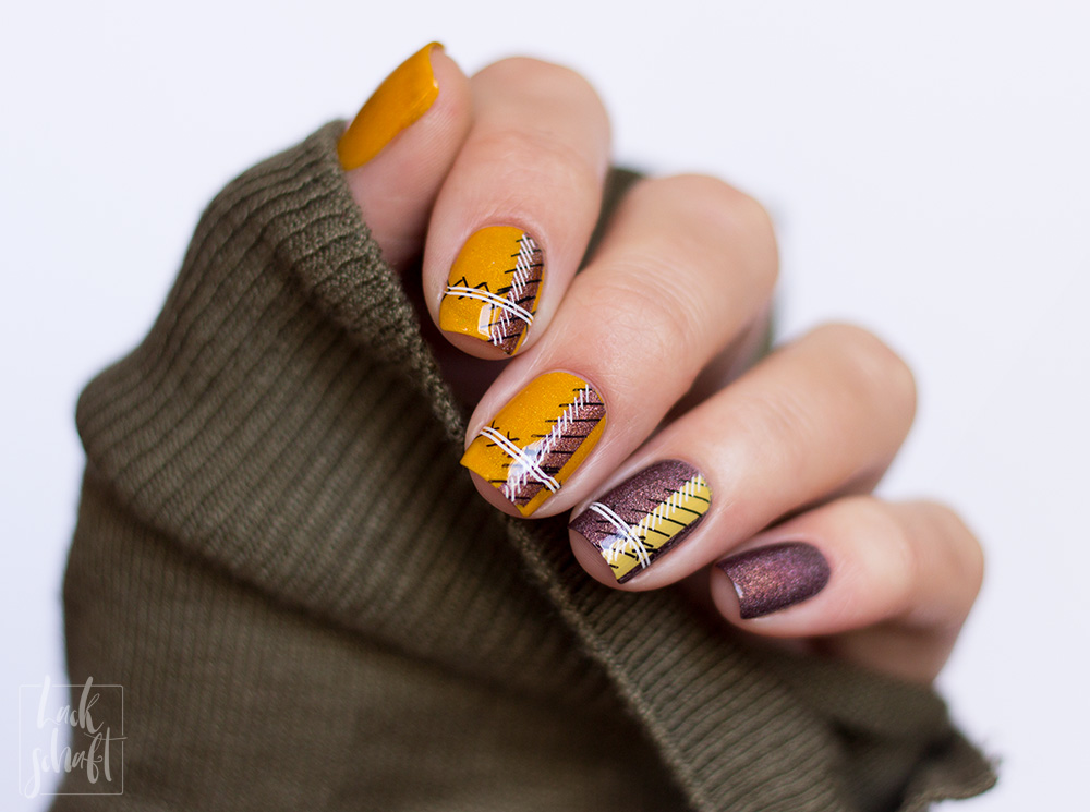 ypslackiertchallenge-cozy-sweater-nails-checkered-nails-plaid-nailart-1