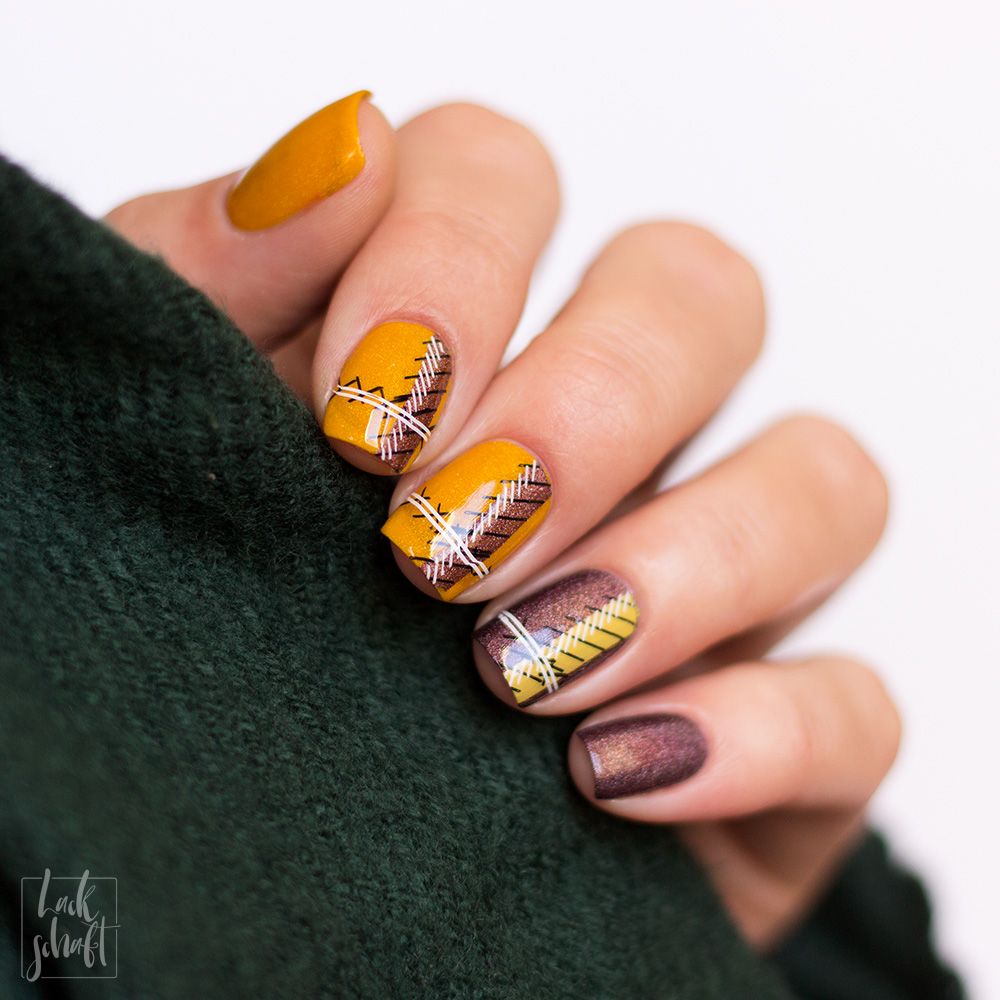ypslackiertchallenge-cozy-sweater-nails-checkered-nails-plaid-nailart-4