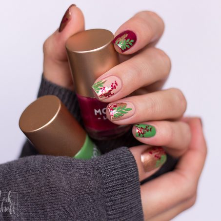 Nailart-Foil-Stamping-Christmas-Moyou-Fall-in-love-green-2