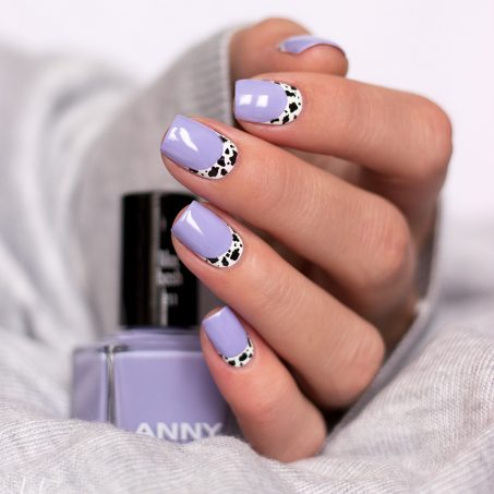 Anny-lilac-Bash-Nailart-Ruffian-Nails-Cow-French-Kuhmuster-Animalprint-3
