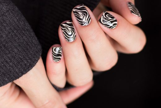 Nailart-Stamping-Black-and-White-Moyou-Pro-XL-28-Pic-1