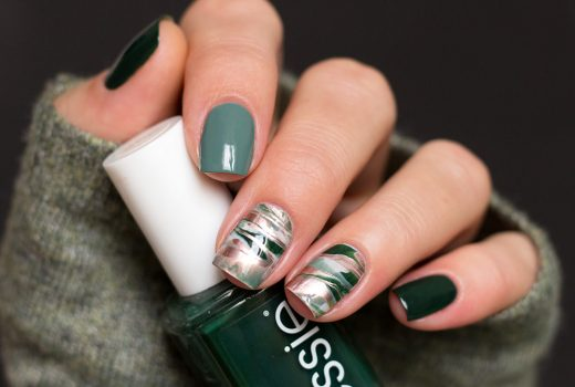 Essie-Stamper-marble-Nailart-Off-tropic-feshionista-Urban-Jungle-Penny-Talk-3