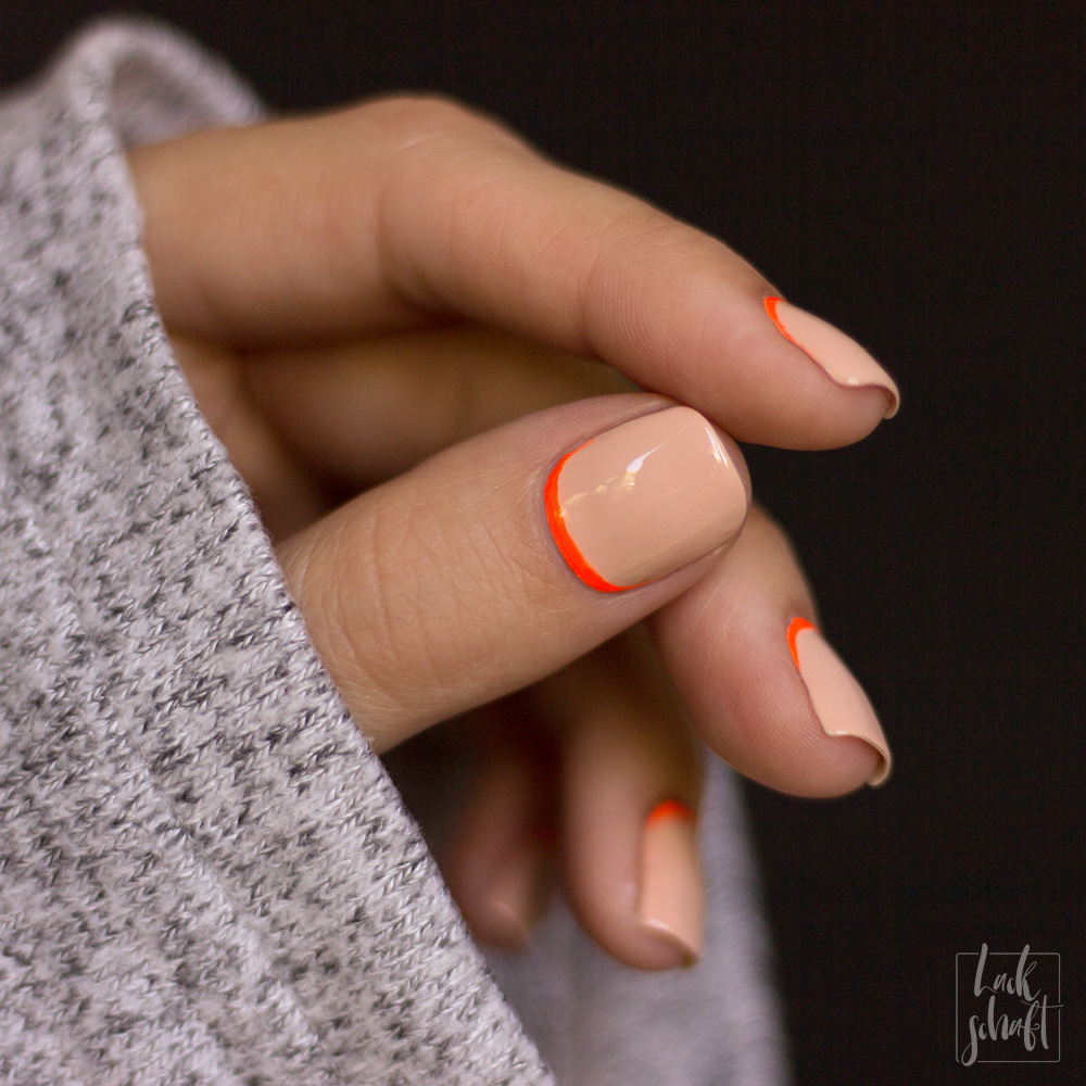 Frischlackiert-challenge-Nailart-Ruffian-Nails-Orange-Nude-Neon-3