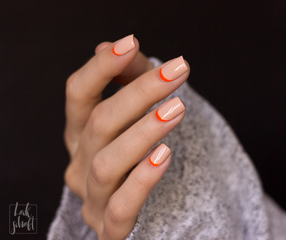 Frischlackiert-challenge-Nailart-Ruffian-Nails-Orange-Nude-Neon-4