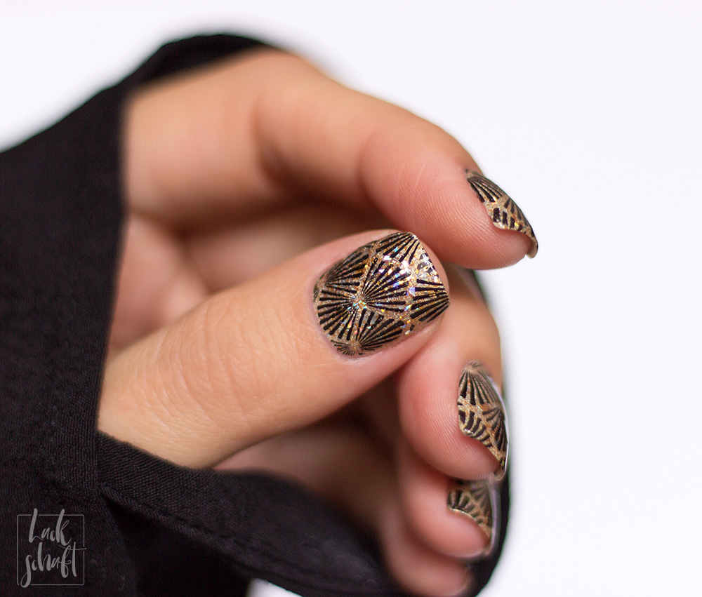 Frischlackiert-Challenge-Nailart-Black-and-Gold-Schwarz-Stamping-Moyou-20s-Gatsby-3